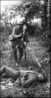 French war cinematographer - Click for war picture slides show