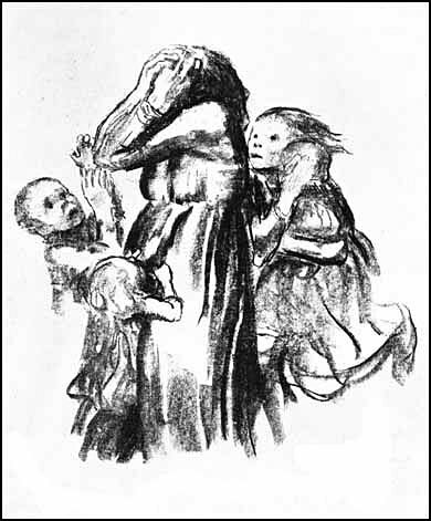 Drawing by Käthe Kollwitz