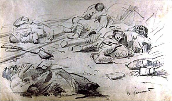 drawing Jean Despujols