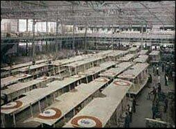 Inside the Farman aircraft factory