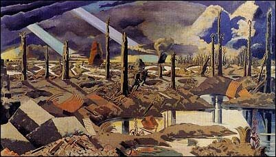 Menin Road, by Paul Nash
