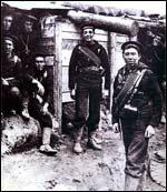 British marines in Antwerpen, 1914