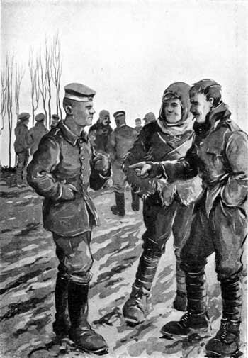 Wwi Christmas Truce.The Heritage Of The Great War First World War Bruce